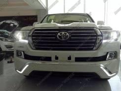 Обвес кузова аэродинамический. Toyota Land Cruiser, UZJ200W, VDJ200, J200, URJ202W, GRJ200, URJ200, URJ202, UZJ200