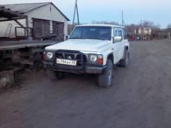 Nissan Patrol. механика, 4wd, 2.8 (140 л.с.), дизель, 100 000 тыс. км