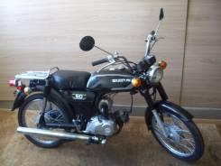 Suzuki. 50 куб. см., исправен, без птс, без пробега