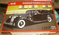 Модель автомбиля ICM 35535 Packard Twelve (Model 1936) wwii Soviet