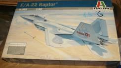 Сборная модель Italeri 850 f/a-22 raptor