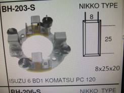 ЩЕТКОДЕРЖАТЕЛЬ СТАРТЕРА BH-203-SC ISUZU 6BD-1 KOMATSU PC-120