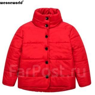 Куртки-пуховики. Рост: 110-116, 116-122 см