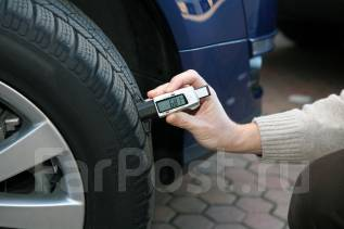 Глубиномер протектора автопокрышек цифровой 0-25 мм.