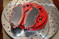 Диски новые тюнь+колодки керамика JZX90 JZX100. Toyota Cresta, JZX90, JZX100 Toyota Mark II, JZX100, JZX90 Toyota Chaser, JZX100, JZX90