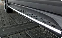 Порог пластиковый. Kia Sorento BMW X5