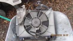 Радиатор охлаждения двигателя. Toyota bB
