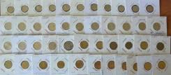 Погодовка 1, 5, 10 копеек (44 монеты - все разные) Обмен