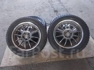 Зимние колеса R18 WORK VSX +. 7.5x18 5x114.30 ET55 ЦО 80,0мм.
