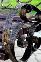 Декоративная полоса, крадрат, витая труба, патина, кузнечные элементы