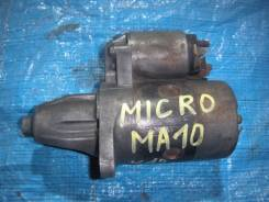 Стартер. Nissan: AD, Micra, March, Pao, Prairie Двигатели: E13S, MA10S, MA12S, CA20E, E15S, CA20S, CA18S, MA10
