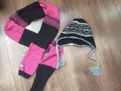 Шапки-шарфы.