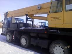 Краян КШТ-50.01. Автокран МАЗ 36923, 14 866 куб. см., 50 000 кг., 37 м.