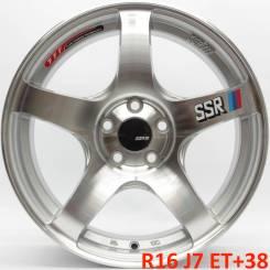 SSR. 7.0x16, 5x100.00, ET38, ЦО 73,1мм.