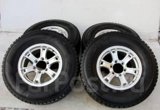 Колёса с шинами =Weds Keeler= R16! 2011 год! 10 мм! (№ 48858). 7.0x16 6x139.70 ET26