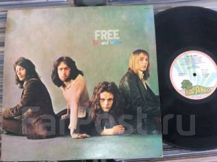 БЛЮЗ РОК! ФРИ / FREE - Fire and Water - JP LP 1970