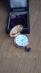 Старинные золотые карманные часы. Оригинал