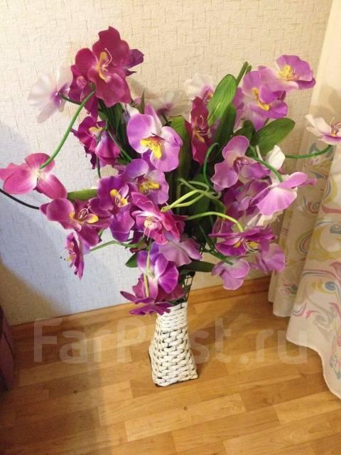 Где купить искусственные цветы во владивостоке доставка цветов метро аэропорт