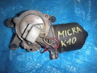 Мотор стеклоочистителя. Nissan Micra, K10 Двигатели: MA10S, MA10