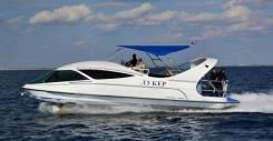 """Продам моторную яхту для бизнеса со стеклянным дном """"Лукер 400"""". Год: 2016 год, длина 12,30м., двигатель стационарный, 630,00л.с., дизель. Под заказ"""