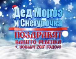 Дед Мороз и Снегурочка, Новый год 2017