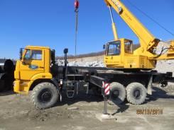 Услуги аренды автокрана 25 тонн Камаз , Приморкий край