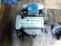 Двигатель в сборе. Toyota Corolla Ceres, AE101 Двигатель 4AGE