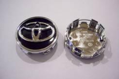 """Колпачки диска ЦО (заглушка диска) центрального отверстия Toyota 63мм. Диаметр 17"""", 4 шт."""