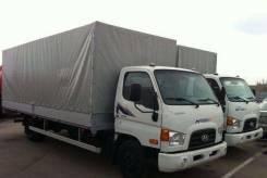 Hyundai HD78. Бортовик HD-78 DLX+ABS 5,2х2,2х0,4 (тент, каркас, ворота), 3 900 куб. см., 7 500 кг.