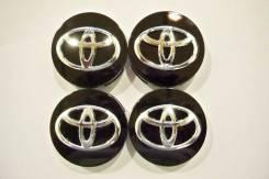 """Колпачки диска ЦО (заглушка диска) центрального отверстия Toyota 62мм. Диаметр 17"""", 4 шт."""