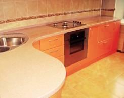 Изготовим кухонные столешницы из искусственного камня от производитея