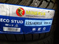 Minerva Eco Stud. Зимние, шипованные, 2016 год, без износа, 2 шт