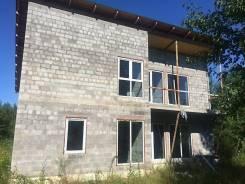 Продам котедж в Матвеевке в Хабаровском районе. Улица Железнодорожная 10, р-н Железнодорожный, площадь дома 200 кв.м., скважина, отопление электричес...