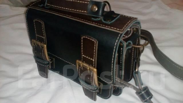 086f64ee8ea4 Кожаная барсетка ручной работы - Аксессуары и бижутерия в Уссурийске