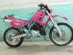 Kawasaki KDX. 250 куб. см., исправен, птс, без пробега