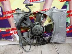 Вентилятор охлаждения радиатора. Toyota Vitz Toyota Platz, SCP11