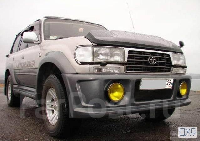 Дефлектор капота. Toyota Land Cruiser, FJ80, FJ80G, FZJ80, FZJ80G, FZJ80J, HDJ80, HZJ80, J80. Под заказ
