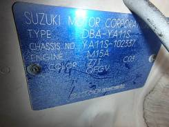 Suzuki SX4. YA11S, M15A
