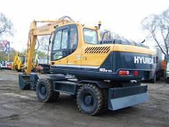 Hyundai. Экскаватор колесный R180W-9S, 4 996 куб. см., 0,89куб. м.