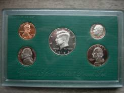 Набор монет США 1996 год Пруф