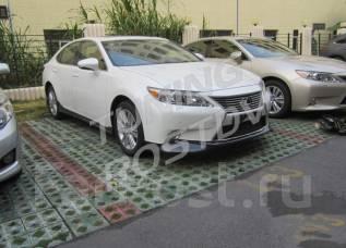 Обвес кузова аэродинамический. Lexus ES250, ASV60, GSV60 Lexus ES350, ASV60, GSV60, XV60 Двигатели: 2ARFE, 2GRFE. Под заказ