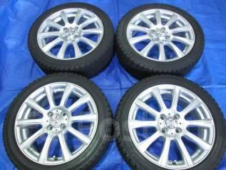 Литые диски Weds Joker с зимними шинами 205/45R16 Bridgestone Revo1. 6.0x16 4x100.00 ET42 ЦО 73,0мм.
