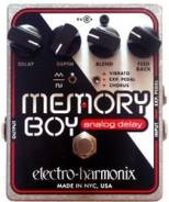 Гитарная педаль Analog Delay/ Chorus/ Vibrato Electro-Harmonix Memory Boy SALE