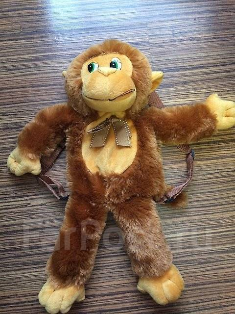 Рюкзак-обезьянка классный