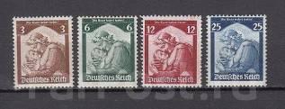 Марки Германии 1935 г MLH