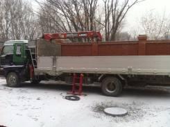 Isuzu Forward. Продается грузовик с манипулятором, 7 166 куб. см., 5 000 кг.