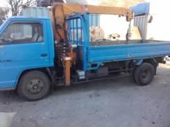 Isuzu Elf. Продается грузовик с крановой установкой 250 категория В, 3 600 куб. см., 2 500 кг.
