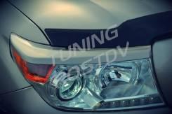Накладка на фару. Toyota Land Cruiser, VDJ200, UZJ200W, GRJ200, URJ200, UZJ200