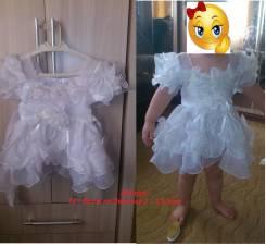 Платья. Рост: 74-80, 80-86 см