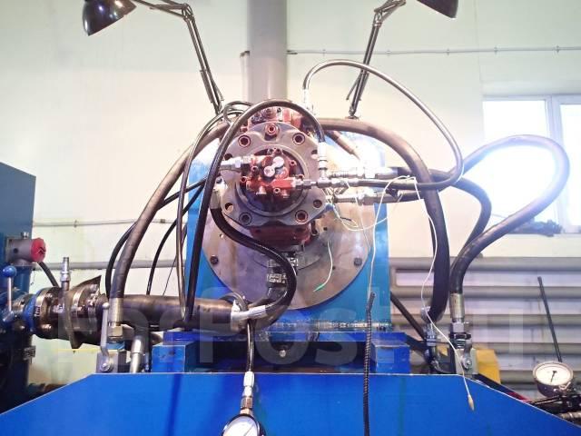 Ремонт и проверка гидронасосов на стенде. Ремонт гидравлики.
